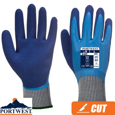 Portwest Liquid Pro HR Cut Resistant Glove - AP81