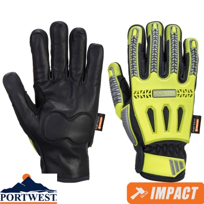 Portwest R3 Impact Waterproof Winter Glove - A762