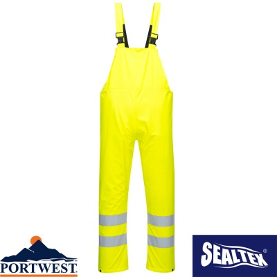 Portwest Sealtex Ultra Waterproof Breathable Bib & Brace - S497