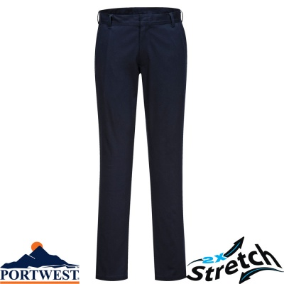 Portwest Stretch Slim Chino Trouser - S232