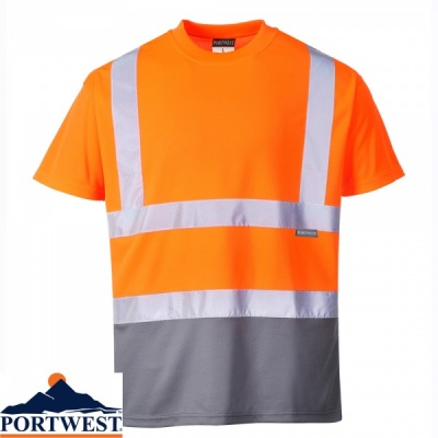 Portwest Two-Tone T Shirt - S378