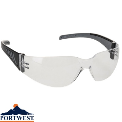 Portwest Wrap Around Pro Safety Glasses - PR32