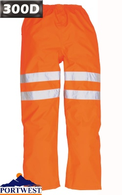 Portwest Hi Vis Waterproof Traffic Trousers RIS - RT31