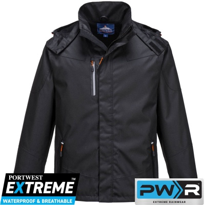 Portwest Outcoach Waterproof Breathable Jacket - S555