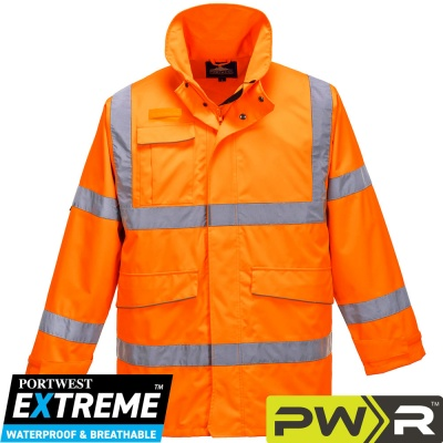Portwest Extreme Waterproof Breathable Parka Jacket - S590
