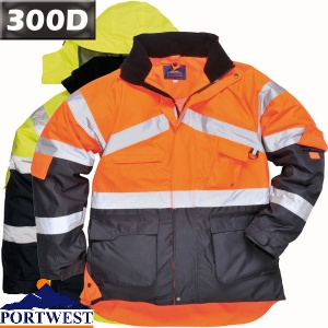 Hi Vis Two Tone Breathable Jacket - S760