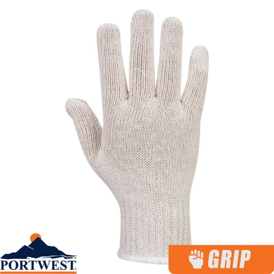 Portwest String Knit Liner Gloves (300 Pairs) - A030