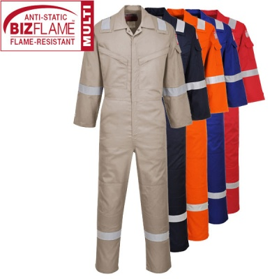 Super Lightweight Anti Static Flame Retardant Coverall - FR21