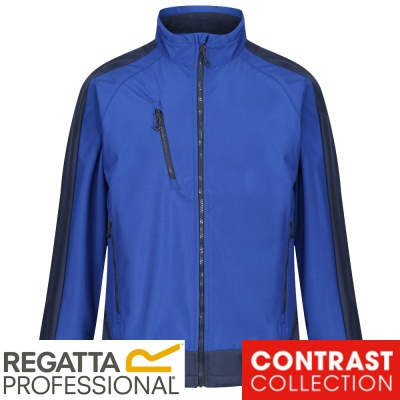 Regatta Contrast 3 Layer Softshell Jacket Waterproof Breathable Wind Resistant - TRA618