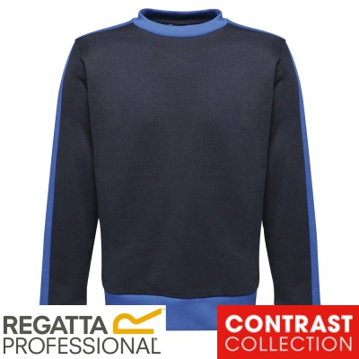 Regatta Contrast Crew Sweat Shirt - TRF527