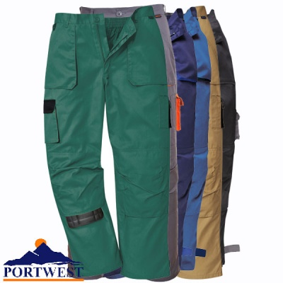 Portwest Texo Contrast Work Trousers - TX11