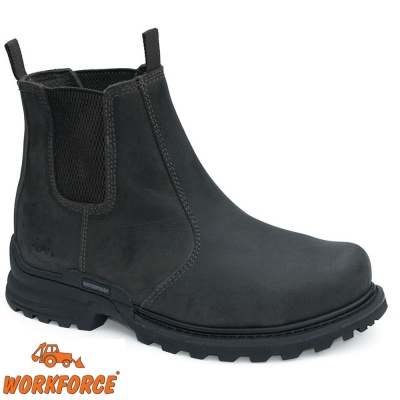 WorkForce Black Waterproof Dealer Safety Boot - WF7DP