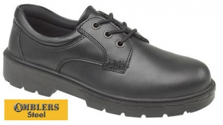 Amblers Steel Anti-Static Safety Shoes - FS41