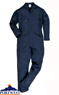 Liverpool Zip Coverall - C813X