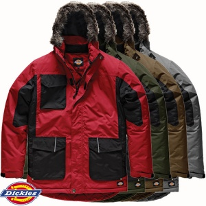 Dickies Two Tone Parka Jacket - JW7008X
