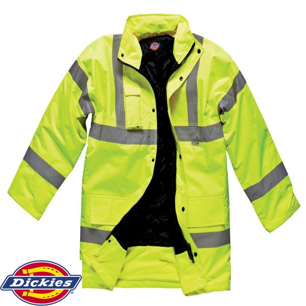 Small Yellow Dickies Hi-Vis Bomber Jacket
