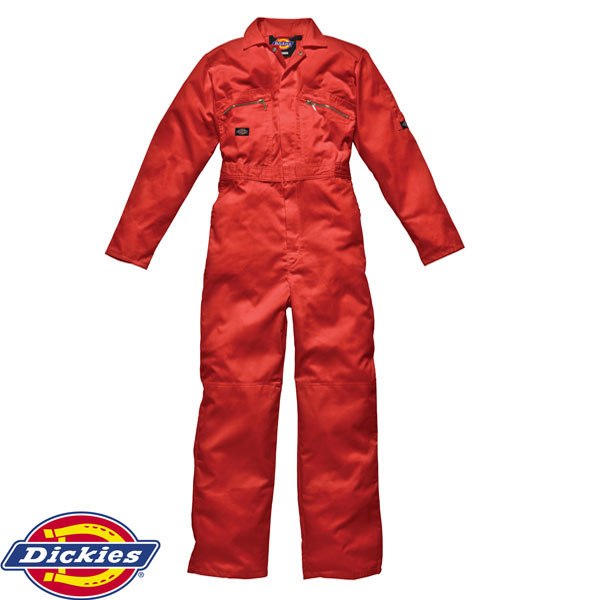Dickies WD4839 Zip Coverall Lincoln Green UK 52R