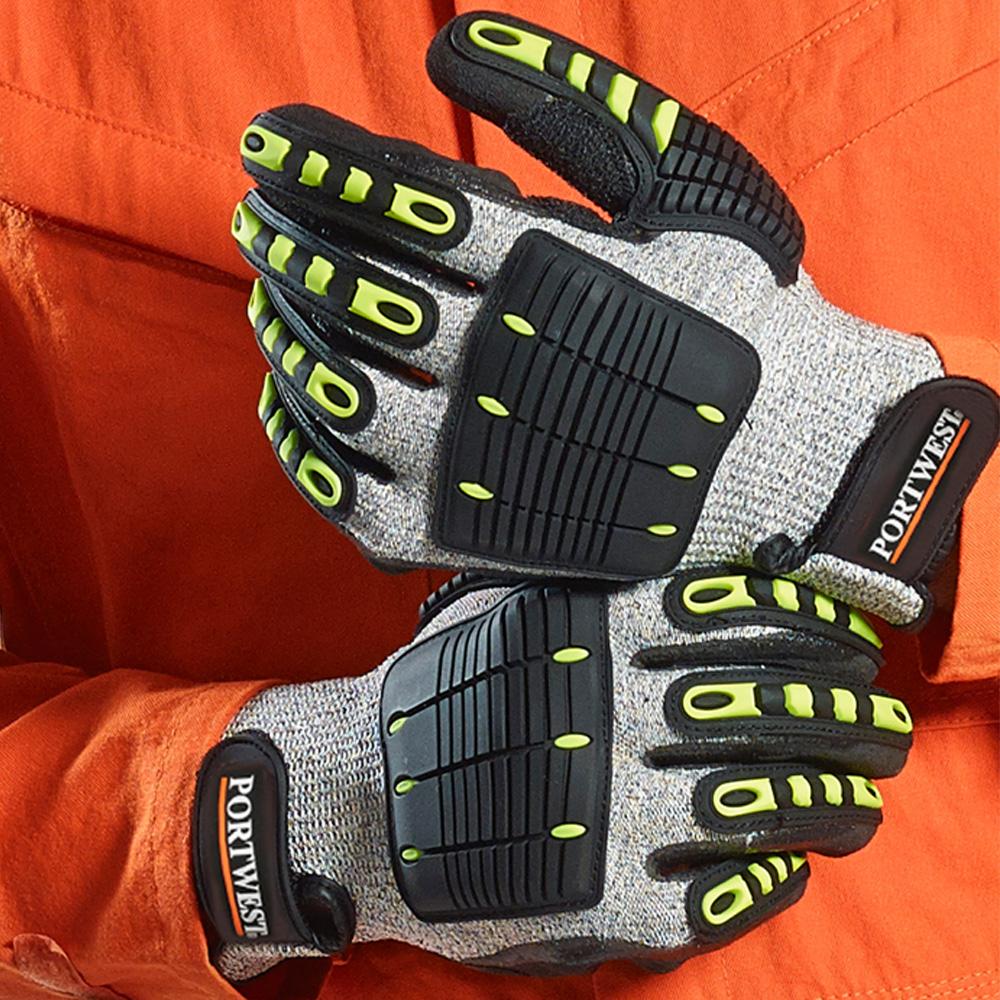 Portwest A729 Anti Impact High Flexibility Cut Resistant Thermal Work Wear Glove