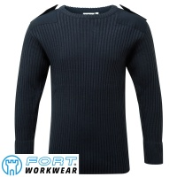 Fort Crew Neck Combat Jumper - 120