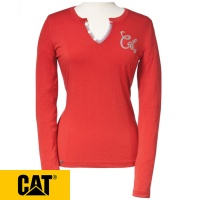Cat Womens Signature Long Sleeve Tee - 1510472