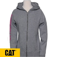 Cat Zinnia Ladies Full Zip Banner Hoodie - 1910123