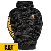 Cat Trademark Banner Hooded Sweatshirt - 1910709