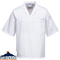 Portwest Baker Shirt Food Short Sleeve - 2209