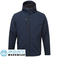 Fort  Holkham Hooded Softshell Jacket - 234