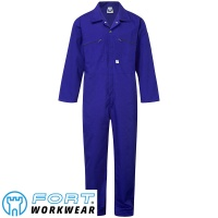Fort Zip Front Boilersuit  - 366