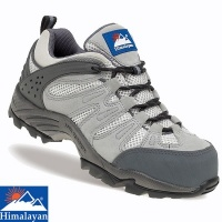 Himalayan Ladies Grey Safety Trainer - 4032