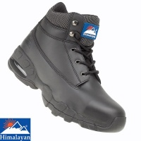 Himalayan Black Air Bubble Safety Boot - 4040