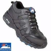 Himalayan Black Air Bubble Safety Trainer - 4041