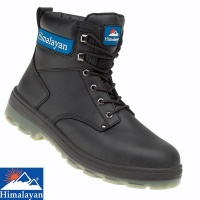 Himalayan Black Leather TPU Boot  - 5015