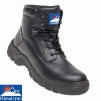 Himalayan Black Leather TPU Safety Boot  - 5070