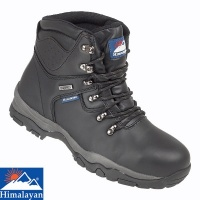 Himalayan Black Waterproof Safety Boot - 5200