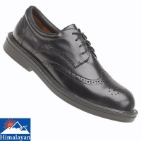 Himalayan Executive Black Brogue Safety Shoe - 9810H