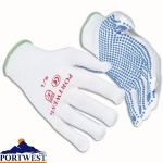 Nylon Polka Dot Glove - A110
