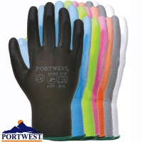 Portwest Nylon PU Palm Glove - A120