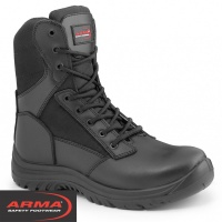 ARMA S3 Side Zip Combat Safety Boot - A6WARRIOR