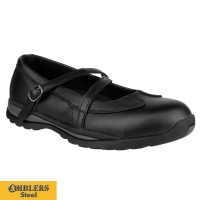 Amblers Ladies Steel Safety Shoes - FS55