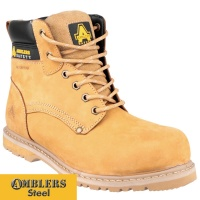 Amblers Honey Welted S3 Safety Boot - FS147