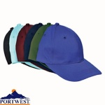 Six Panel Baseball Cap - B010