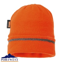 Portwest Reflective Trim Knit Hat - B023