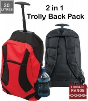 2 in 1 Trolly Backpack - B906