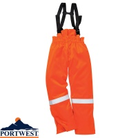 Portwest Bizflame Flame Retardant Winter Salopettess - FR58