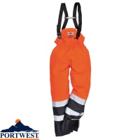 Portwest Bizflame Rain Hi-Vis Multi-Protection Trousers - S782