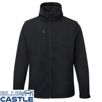 Blue Castle Holkham Hooded Softshell Jacket - 234