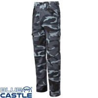 Blue Castle Night Urban Combat Trousers - 901NU
