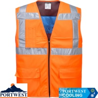 Portwest High Vis Cooling Vest - CV02