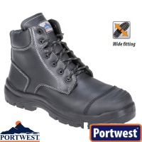 Portwest Clyde Safety Boot S3 HRO CI HI FO - FD10